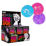 Schylling - Crystal Nee-Doh Stress Ball, Assorted Colours