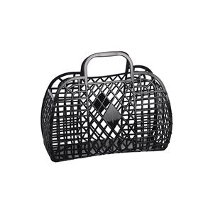 Sun Jellies - Large Retro Basket, Black