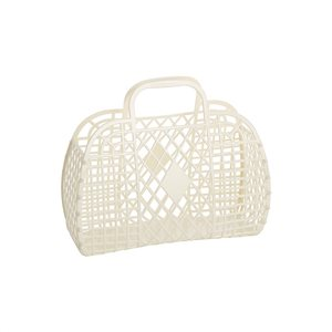 Sun Jellies - Retro Basket, Cream