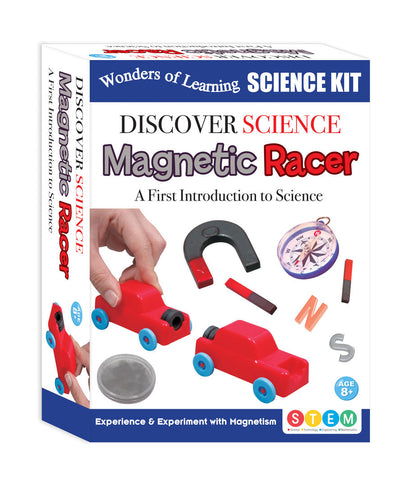 Wonders of Learning Discover Science Kit, Magnetic Racer