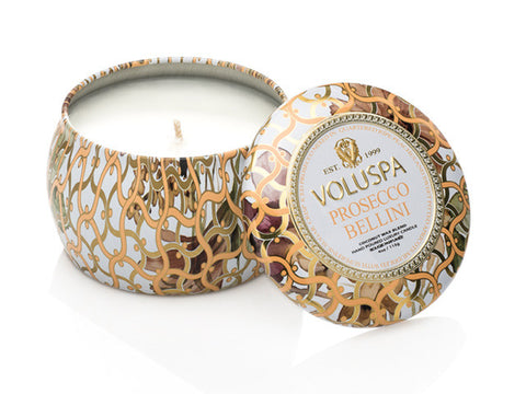 Voluspa - 25hr Decorative Candle, Prosecco Bellini