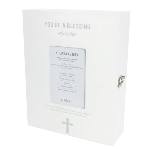 Splosh - Baby Christening Keepsake Box