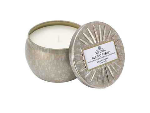 Voluspa - 25hr Decorative Candle, Blond Tabac
