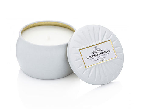 Voluspa - 25hr Decorative Candle, Bourbon Vanille