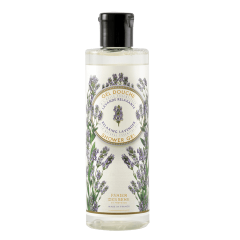 Panier Des Sens - 250ml Shower Gel, Relaxing Lavender with Natural Essential Oil