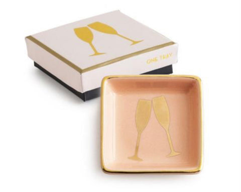 Rosanna Inc. - Token of Affection Trinket Dish, Champagne Flutes