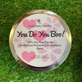 CrazyDaisy Candles - You Do You Boo, Candle
