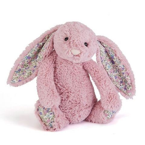 Jellycat - 31cm Medium Bashful Bunny, Blossom Tulip (RETIRING THIS YEAR)