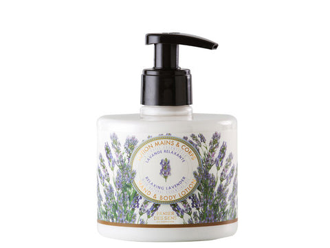 Panier Des Sens - 300ml Hand and Body Lotion, Relaxing Lavender with Natural Essential Oil