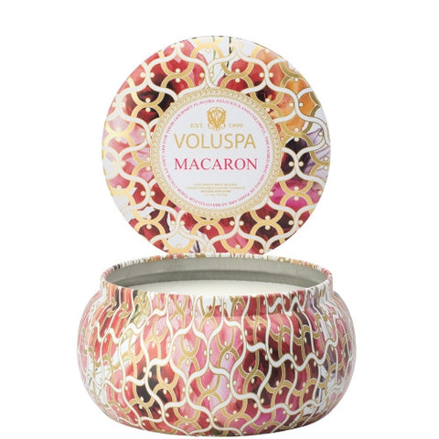 Voluspa - 50hr Double Wick Candle, Macaron