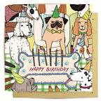 Lalaland - Dog Birthday Greeting Card