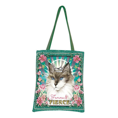 Lalaland - Canvas Tote Bag, Femme and Fierce