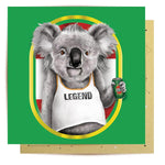 Lalaland - Koality Legend Greeting Card