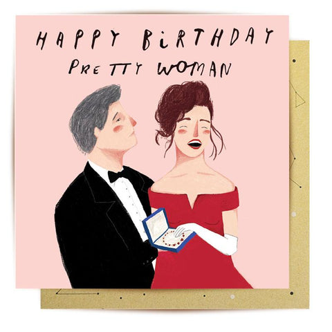 Lalaland - Pretty Woman Greeting Card