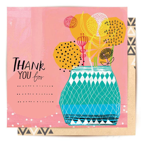 Lalaland - Thank You For... Greeting Card