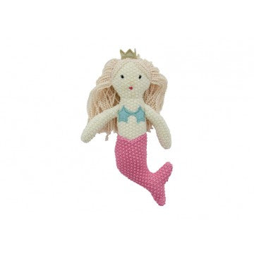Annabel Trends - Pink Crotchet Mermaid Rattle