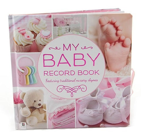 My Baby Record Book, Pink