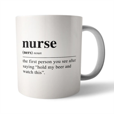 Needs and Wishes - Coffee Mug, Nurse