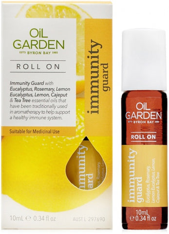 Oil Garden - Roll On Essential Oil Blend 10ml, Immunity Guard