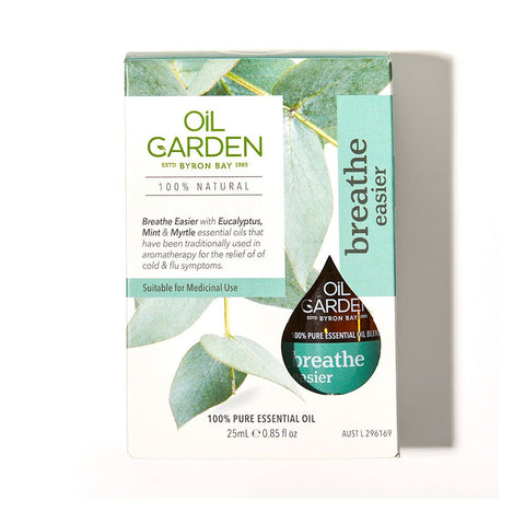 Oil Garden - Breathe Easier Essential Oil Blend 25ml