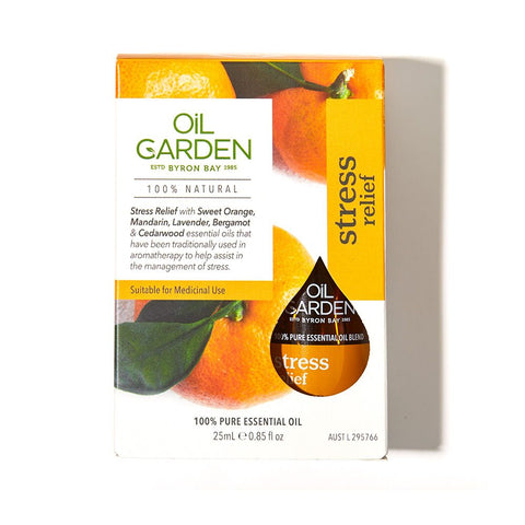 Oil Garden - Stress Relief Essential Oil Blend 25ml