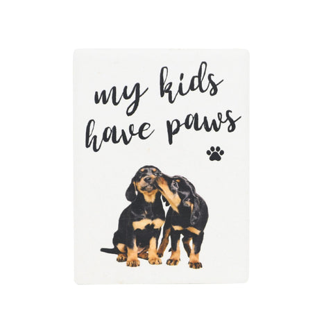 Splosh - Pet Ceramic Magnet, My Kids Have Paws