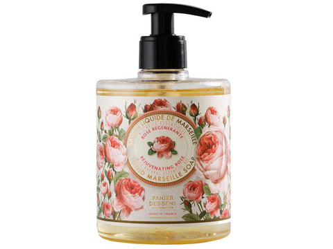 Panier Des Sens - 500ml Liquid Marseille Soap, Rejuvinating Rose with Natural Essential Oil