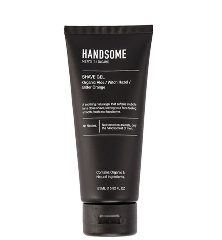 Handsome - Organic Aloe, Witch Hazel and Bitter Orange Men's Shave Gel, 175ml