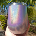 Alcoholder - TraVino Stemless Insulated Wine Tumbler, Assorted Colours
