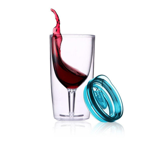 Alcoholder - Travino Spillproof Sippy Wine Cup, Assorted Colours