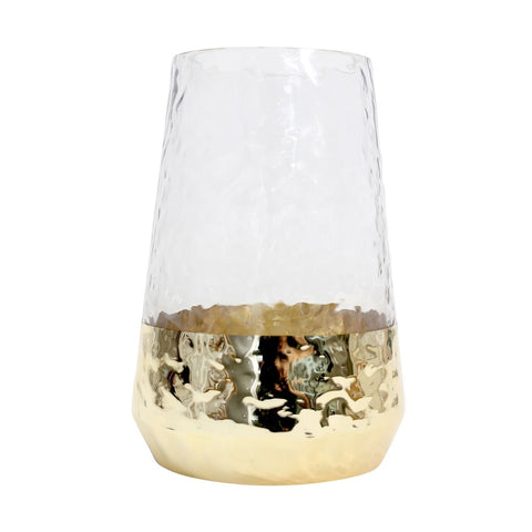 Splosh - Tranquil Gold Dipped Vase, Small