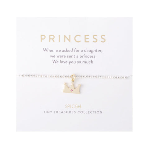 Splosh - Tiny Treasures Children's Bracelet, Princess