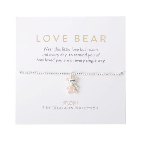 Splosh - Tiny Treasures Children's Bracelet, Love Bear