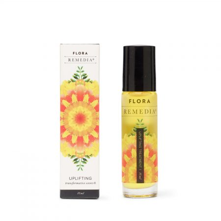 Flora Remedia - Transformative Scents Oil Blend Roll On, Uplifting Infusion 10ml
