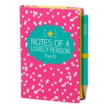 Happy Jackson - Mini Notepad & Pencil Set, Notes of a Lovely Person
