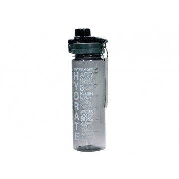 Annabel Trends - Watermate Water Bottle 750ml, Charcoal