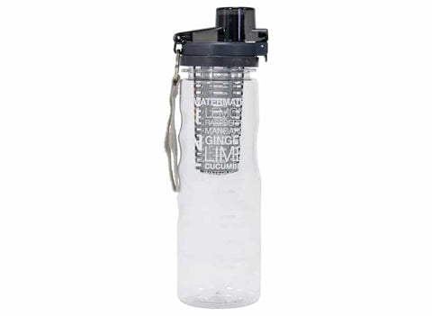 Annabel Trends - Watermate Infuser Bottle, Charcoal
