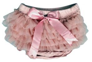 ES Kids - Ruffle Baby Bloomers, Dusty Pink