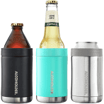 Alcoholder - StubZero Can & Bottle Stubby Cooler, Assorted Colours