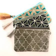 Zoda - Moroccan Vibes Coin Purse, Olive Green