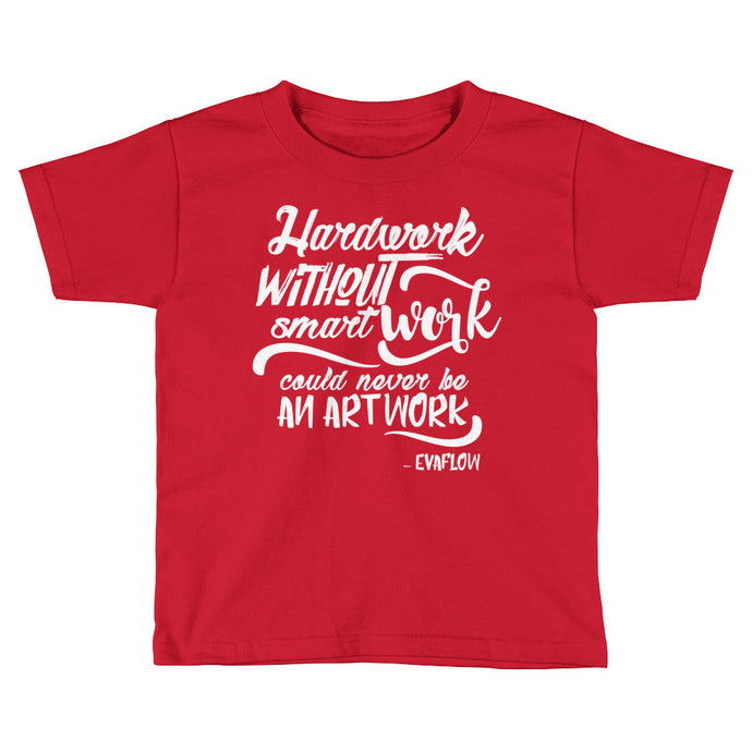 Kids Smart Work Tee (White Logo)