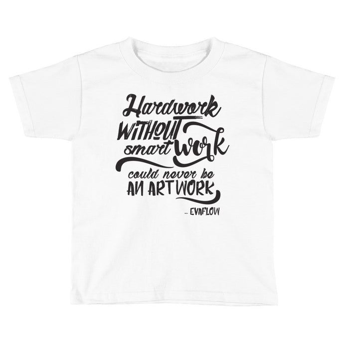 Kids Smart Work Tee (Black Logo)