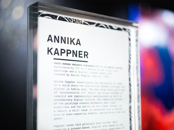 Exhibition by Annika Kappner