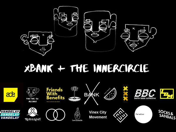OCTOBER 19 - 13:00 - 20:00 // X BANK ft. Innercircle [ ADE ]