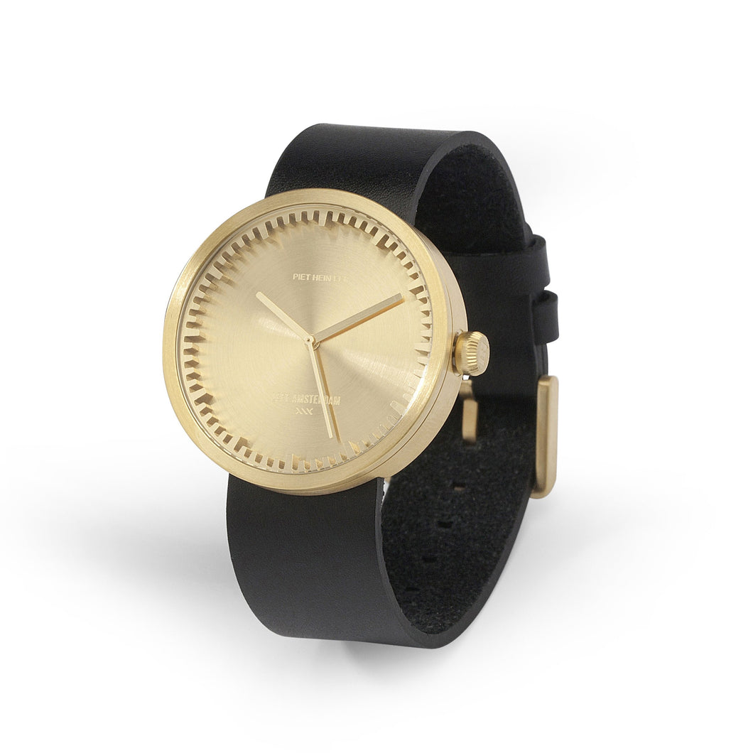 Gold Tube Watch Men