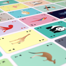 Playing Cards Animals
