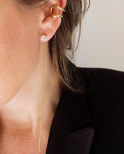 Mini Bold Ear Cuff Brass