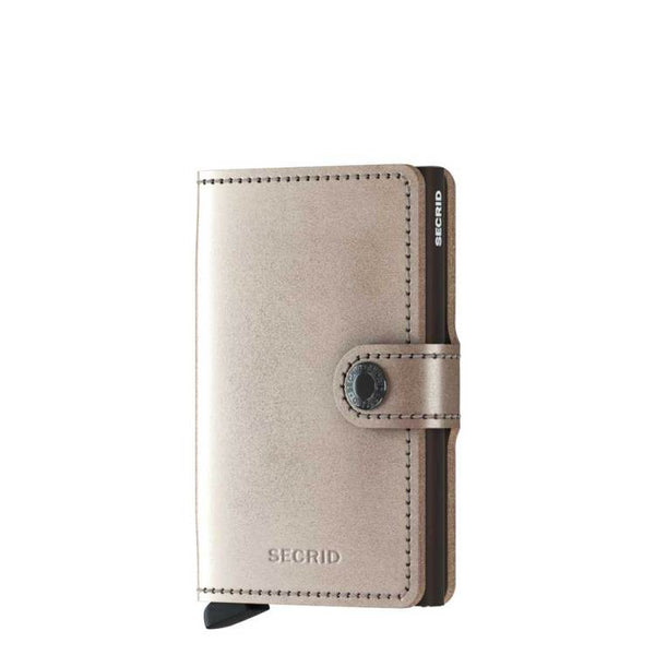 Metallic Champagne-Brown Wallet