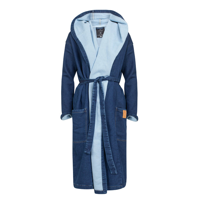 Denim Bathrobe