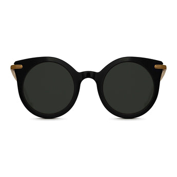 <strong>Loli - T</strong> <br> Black / Gold Temples & Black
